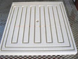 陶瓷纤维炉盘1200炉底硅酸铝异形品 订做工业电炉盘装电阻丝炉盘