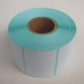中国邮政e邮宝物流  热敏不干胶标签纸 100mm*100mm*500 热敏纸