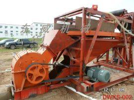出口朝鲜破碎洗沙机 河卵石破碎制砂设备 河道沙石筛沙破碎洗沙机