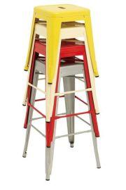 时尚简约餐厅金属凳吧椅SM801