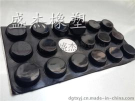 耐磨硅胶垫 自粘耐磨橡胶防滑脚垫厂家直销