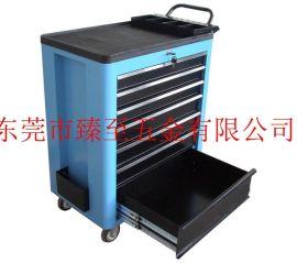 厂家直销东莞钢质工具车 5抽轻型移动推车