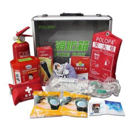 火灾应急箱,12 防火消防箱,车载工具包