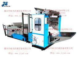 JL-C1200型全自动盒装抽式面巾纸折叠机