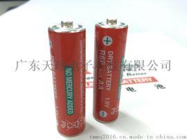 原装三菱R6P 5号碳性干电池 全英文红色电池 2006/66/EC环保电池