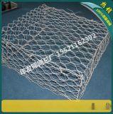 格宾石笼网 护坡铅丝笼 装石头的铁丝网 拧花镀锌覆塑绿滨垫
