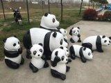 可愛調皮的國寶熊貓模型出租