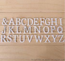 木质英文字母木制婚礼道具广告字定做