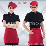 定做酒店工作服夏裝女  員工作服餐飲服裝西餐廳制服工裝男