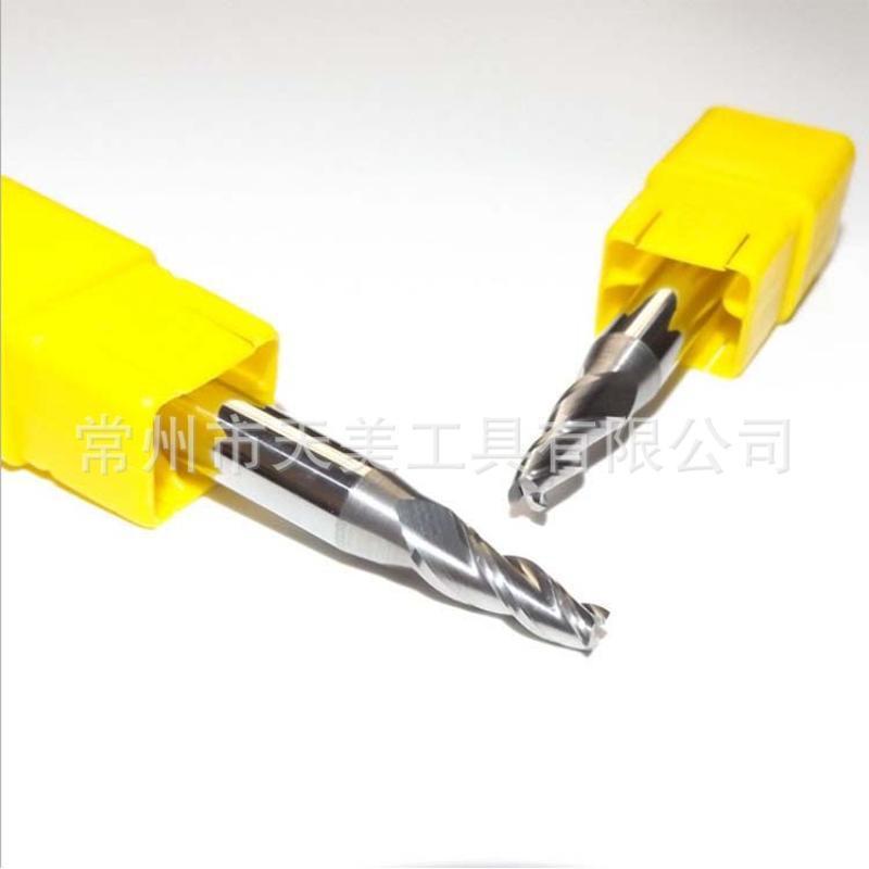 HRC55度塗層錐度立銑刀 鎢鋼斜度刀 電腦數控硬質合金 支持定製