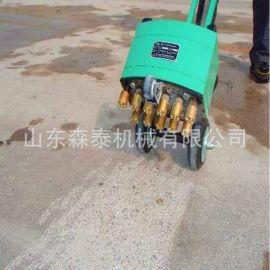 厂家直销11个合金钢钻头凿毛机 地面拉毛凿毛机 气动手推式凿毛ji