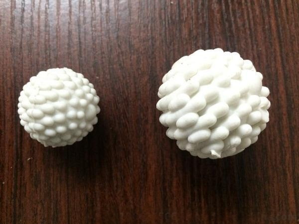 洗水泡沫球洗水胶球弹力球棉球