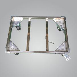 厂价直销不锈钢乌龟车 铝合金加固防静电万向轮平板乌龟车