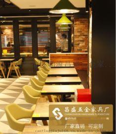 西餐厅家具 餐厅家具系列新款实木餐桌椅