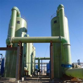 大风量除尘脱硫塔处理效率高
