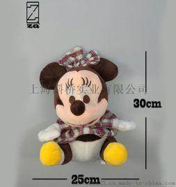 毛绒玩具 米妮米老鼠娃娃
