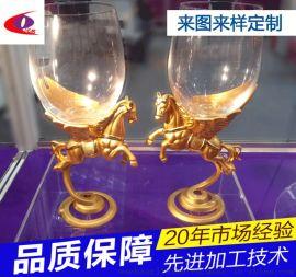 东莞 离心甩铸  专业定制红酒杯底座铸造加工