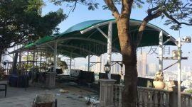 平湖绿色景观张拉膜结构工程