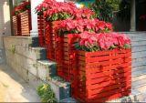 直销防腐木长方形花箱 户外花箱 实木花箱 款式多样