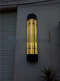 2017工程灯仿云石灯具别墅户外室内透光石壁灯圆柱方形半圆形壁灯
