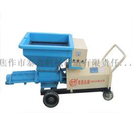 申鑫牌SJB灰浆泵 小型混凝土泵 螺旋式注浆机