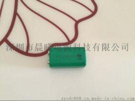 镍氢电池9伏 200mAh 镍氢电池 金属探测仪充电电池