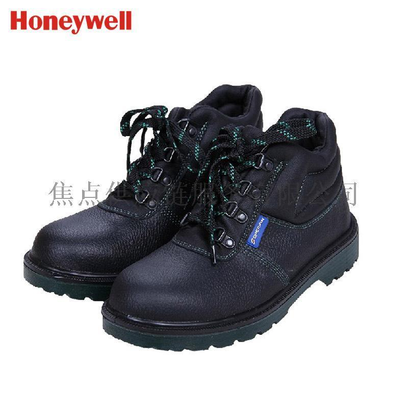 霍尼韋爾巴固安全鞋 防砸 防刺穿 防靜電中幫勞保鞋 牛皮 BC6240471