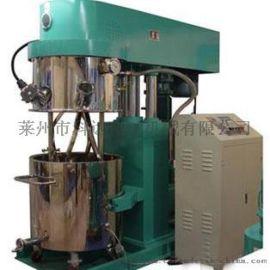 立式三轴搅拌机硅酮密封胶设备行星搅拌机