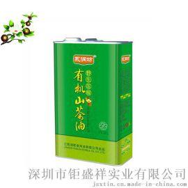 1L山茶油方形铁罐 马口铁方形铁罐定制