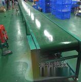 河北保定皮革厂箱包流水线光拉输送线皮带传送带可定制