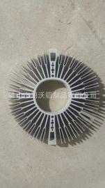 各种铝控制器外壳 太阳花散热器型材加工及开模