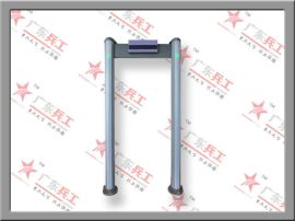 厂家供应BG-A00100十八区LCD液晶圆柱形金属探测安检门