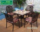 广州铸铝家具厂现货供应欧式桌椅防腐防晒