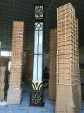 中式景觀燈柱戶外仿雲石3米景觀燈公園道路燈廣場燈柱
