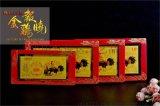 黄金金钞生肖金鸡报晓鸡年贺岁纯金金钞2克大超薄金钞银钞企业定制LOGO厂