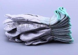 尼龙白色手套 13针织线手套芯批发胚 无尘工作工业电子厂