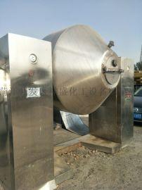 购销二手不锈钢双锥回转真空干燥机2000l