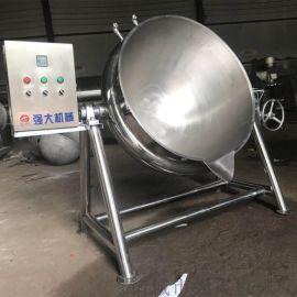 龟苓膏炼制煮锅夹层锅 煮锅夹层锅定时定温全自动