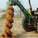 廊坊魯豐機械挖坑機新型地鑽植樹機報價