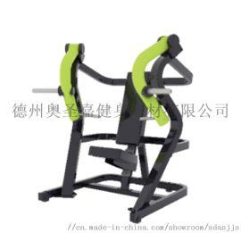 奥圣嘉健身器材坐姿推胸 免维护力量大黄蜂综合训练器