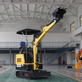 全液压微型挖掘机 多功能履带式小型挖掘机1吨挖掘机