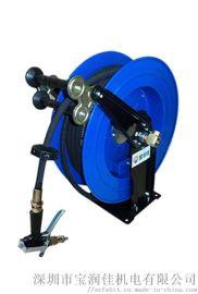 厂销35米自动伸缩卷管器 高压水管盘 强力回弹卷盘