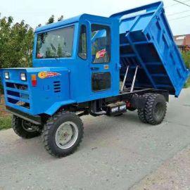 矿用四驱拖拉机  四轮拉货运输车