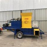 青儲飼料秸稈壓塊機 大型臥式打包機
