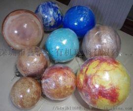 定制亚克力八大星球太阳系星球模型装饰吊球行星球灯亚克力灯罩