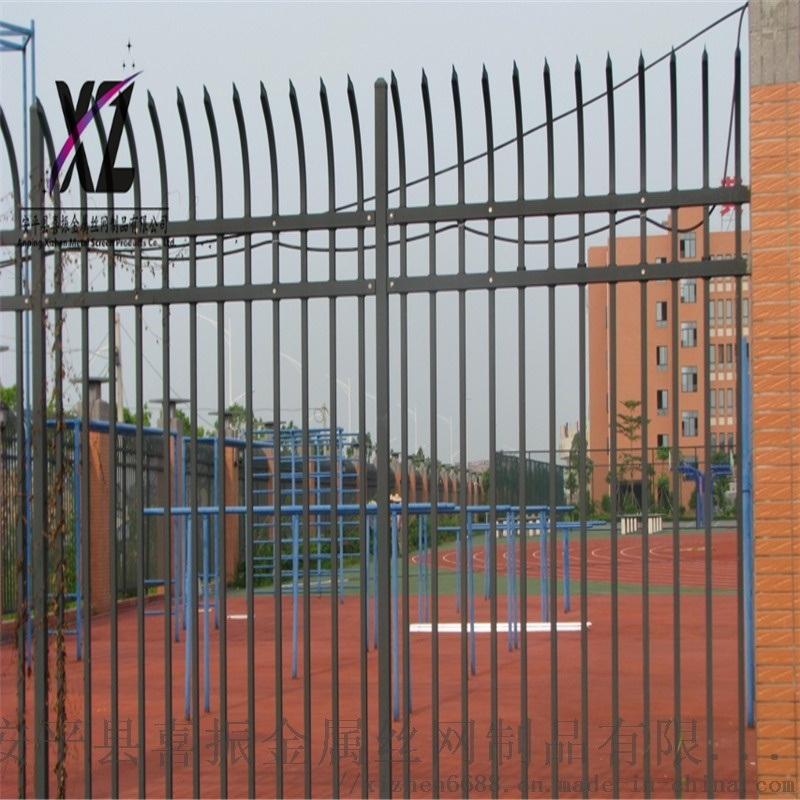 围墙防护栏杆、锌钢围墙护栏、锌钢防护栏厂家