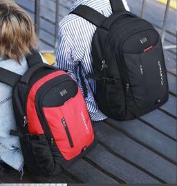 订制男士商务电脑背包初中学生书包双肩背包工厂