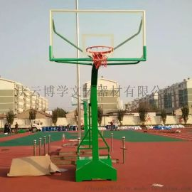 厂家直销凹箱篮球架户外标准篮球架公园  健身器材