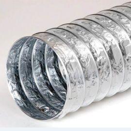 达科DEC150mm双面铝箔伸缩软管 新风换气机铝箔伸缩风管