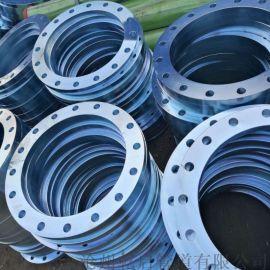 镀锌国标法兰 GB/T9119-2010镀锌法兰 镀锌板式平焊法兰 规格DN15-DN2000 乾启厂家供应